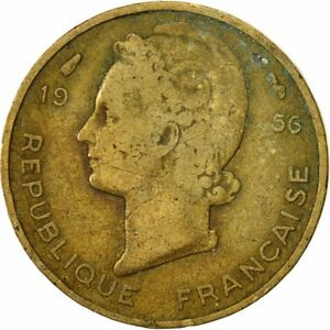 Monnaies, French West Africa, 5 Francs, 1956, Paris, TB #427224 - France - Métal: Aluminum-Bronze Valeur faciale: 5 Francs - France