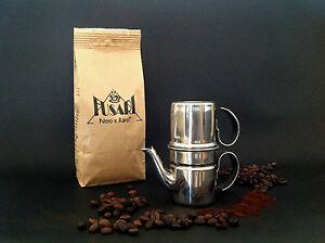 CAFFETTIERA-NAPOLETANA-4-tazze-ACCIAIO-INOX-18-10-FUSARI-250-g-CAFFE-039-FUSARI