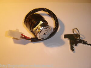 75-79 CB125J ignition switch 4 wires Honda CB125S 1 /'on/' position