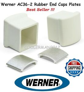 Werner Ac36 2 Rubber End Caps Amp Plates For Use On