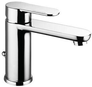Miscelatore rubinetto per lavabo bagno Bella in ottone cromato di ...