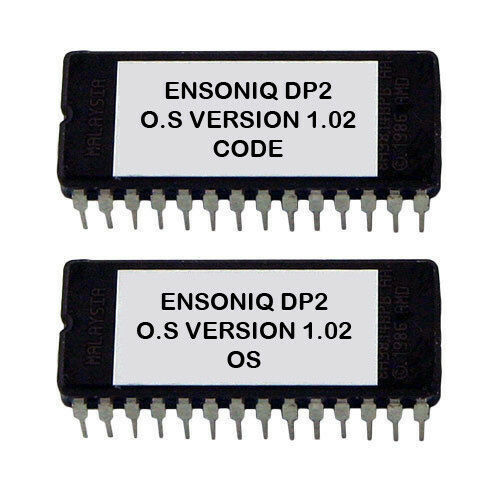 Ensoniq DP//2 firmware OS update upgrade v 1.02 Latest OS DP2 DP-2