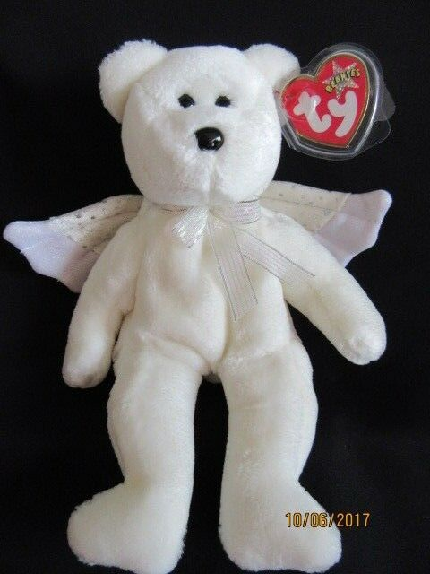 TY Herald The Angel Bear Beanie Baby Xmas Beanies for sale online  7d193a5ee1c