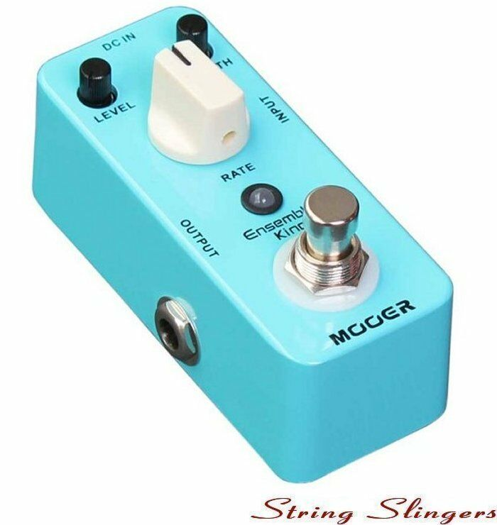 Mooer Micro Compact Ensemble King Analog Chorus Effects Pedal, Pedal, Pedal, MCH1 bb4323