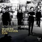 Novus Quartet #1: Webern, Beethoven, Yun (CD, May-2016, Aparte (Label))