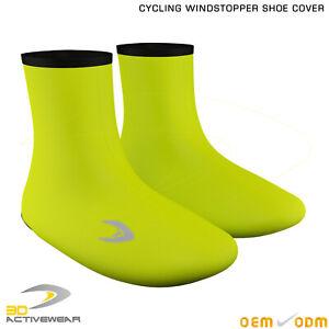 Activewear-Men-s-Bike-Windproof-Windstopper-Fleece-Thermal-Winter-Shoe-Covers