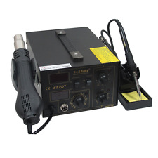 HI 852D 110V SMD Soldering Rework Repair Station Hot Air Gun Welder Iron Nozzles