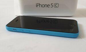 Apple iPhone 5c, iOS Smartphone, 8GB, Azul en Caja con contenido completo, RRP £ 295