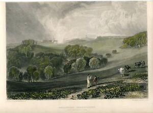 Inglaterra-Brightling-Sternwarte-Gravierkunst-By-W-B-Cooke-1819