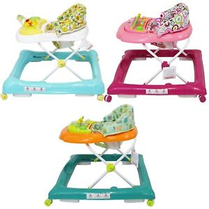 Early-Stages-Baby-Walker-With-Removal-Musical-Activity-Play-Tray-Boys-And-Girls