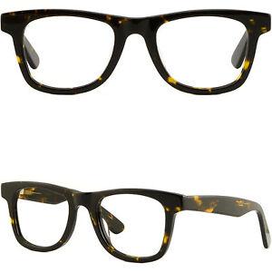655b03f5728c Thick Strong Men Women Frame Large Acetate Eyeglasses Glasses Spring ...