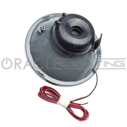 """ORACLE Pre-Installed RED SMD Halo ORACLE 5.75"""" Sealed Beam Single Headlight"""
