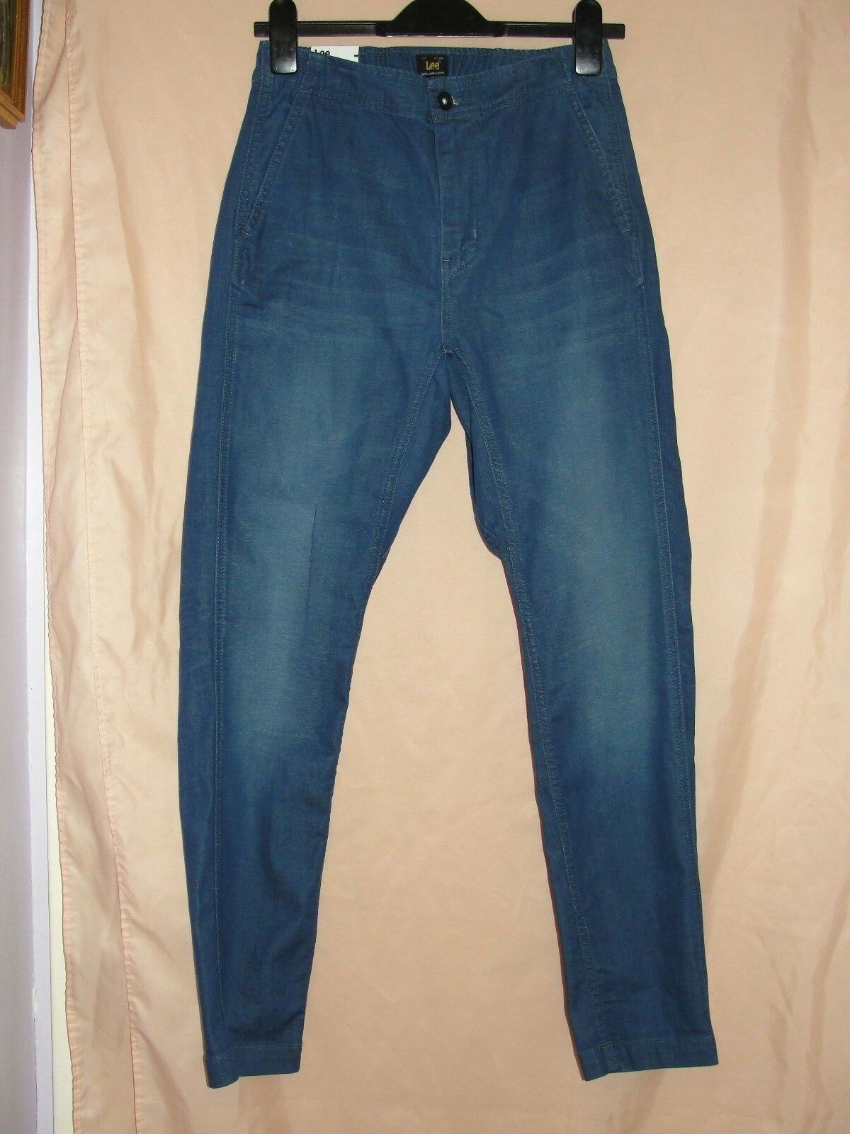 LEE TROUSERS   JEANS - SIZE w-XS L-00  RRP gbp 110