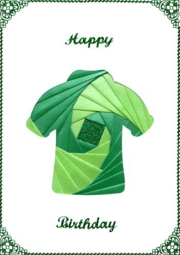 Football Shirt DeeCraft Iris Folding Card Pack