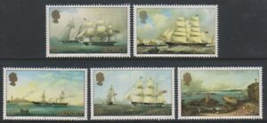 Jersey-1985-P-J-Ouless-Tableaux-Expedie-Ensemble-MNH-Sg-352-6