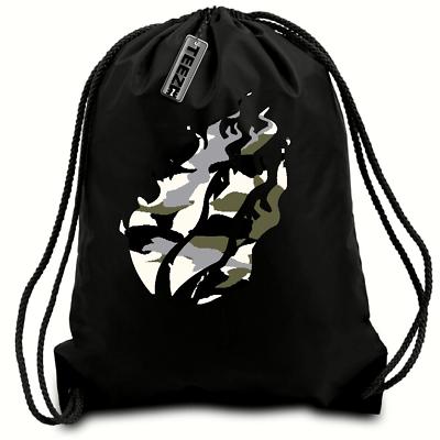 Gym School bag Camouflage Prestonplayz drawstring bag,Gaming,swimming bag