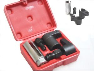 "Oxygen Sensor Socket O2 Thread Chaser Remover Installer Set Wrench 3//8"" M12 M18"