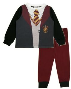 df670a4b16bb Details about Boys Girls Harry Potter Uniform Dress Up Pyjamas Kids Novelty  Hogwarts Long PJs