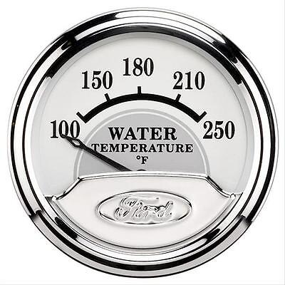 """FORD PERFORMANCE AUTOMETER MASTERPIECE 2 1/16"""" WATER TEMPERATURE GAUGE  880353"""