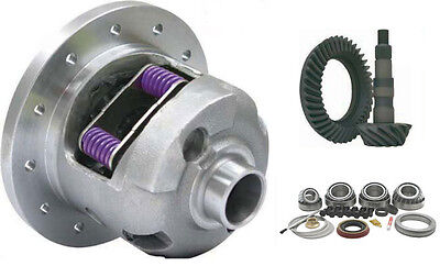 Yukon 30 Spl DuraGrip Posi Package10 Bolt GM 8.5 4.56 Gear Set Master Brng Kit