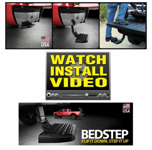 Amp-Research 75316-01A Bed Step Trail Series Heavy Duty for 16-18 Toyota Tundra