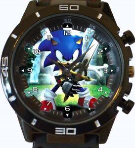 100% QualitäT Sonic Hedgehog Neu Gt Serie Sport Unisex Geschenk Armbanduhr