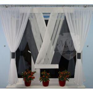 Details zu Moderne Gardinen Wohnzimmer Fensterdekoration Anthrazit Fenster  140 -180 Nr. 658