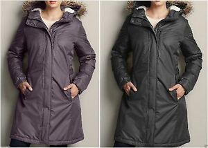 eec87398e3037 Details about NWT Eddie Bauer Women s WeatherEdge Superior Down Stadium  Parka Coat 2 Colors