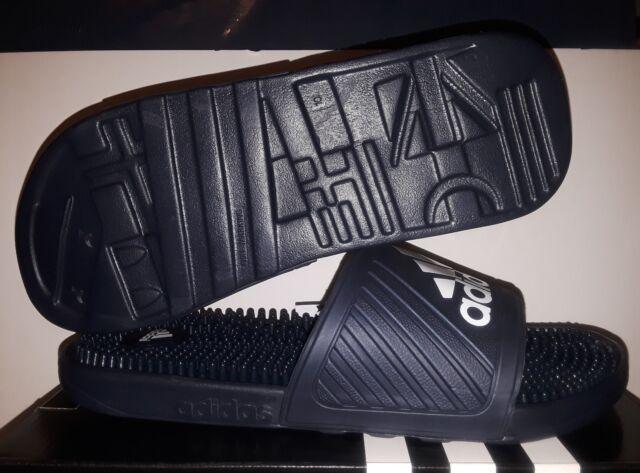 43e1d346c adidas Men s Voloossage Slides Shoes AQ2651 US 10 UK 10 EU 44.5 Navy ...