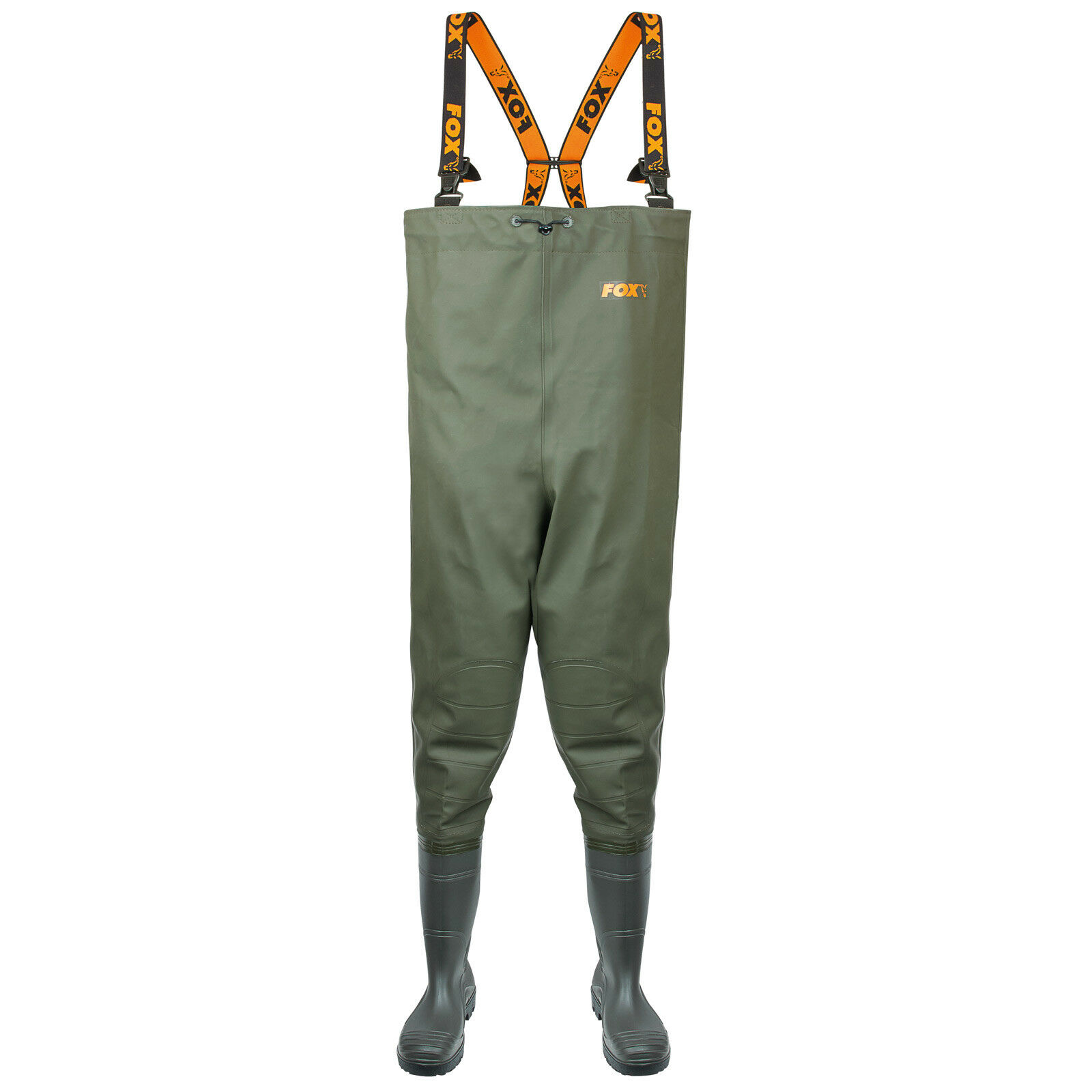 Fox Fox Fox Impermeabili chest WADERS size 10/44 a7fc61