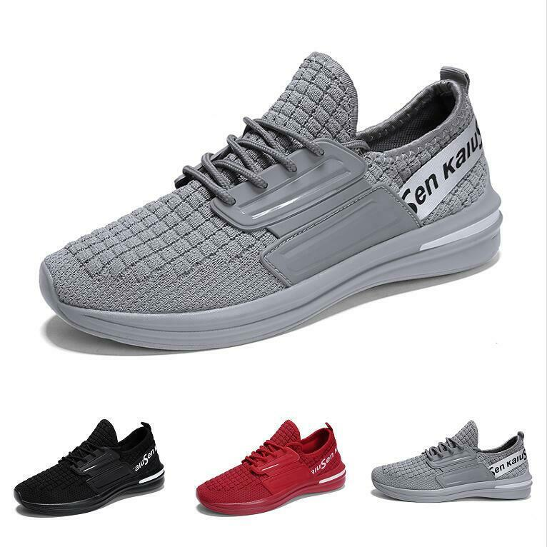 Men's Mesh Low Top Sneaker Breathable Athletic Running Trail Walking shoes shoes