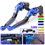 Motorcycle Folding Extend Brake Clutch Levers fit Suzuki GSX-S1000//F//ABS 15-17