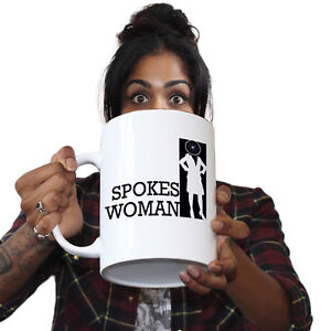Image Is Loading Funny Mugs Spokes Woman Joke Birthday Gift Pun
