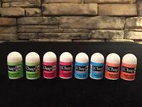 8 Chap Ice Mini Lip Balms; Kiwi Lime,cherry,orange,medicated; You Choose Combo