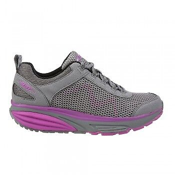 MBT Schuhe Farbeado 17 Winter W grau lila