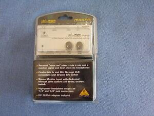 Behringer-MA400-monitor-headphone-amp