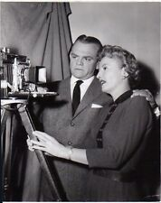 JAMES CAGNEY , BARBARA STANWICK on set , f10333