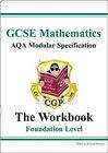 GCSE Maths AQA Modular Specification Foundation Workbook by CGP Books (Paperback, 2003)