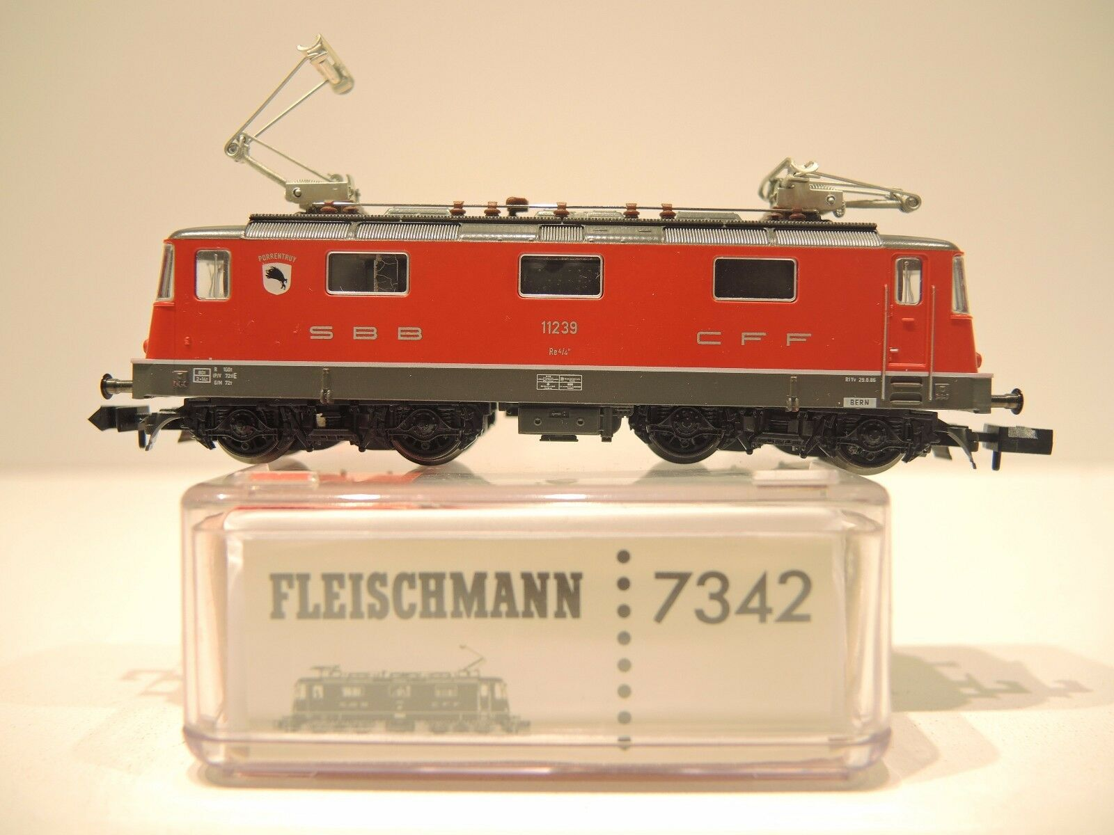Fleischuomon 7342 E-Lok re 4 4 della SBB-FFS, SBB-FFS, SBB-FFS, Porrentruy, TOP    OVP 24a9d1