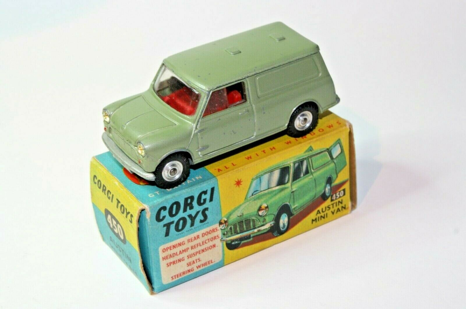 Corgi Mini Van, Excellent Condition in Good Original Box