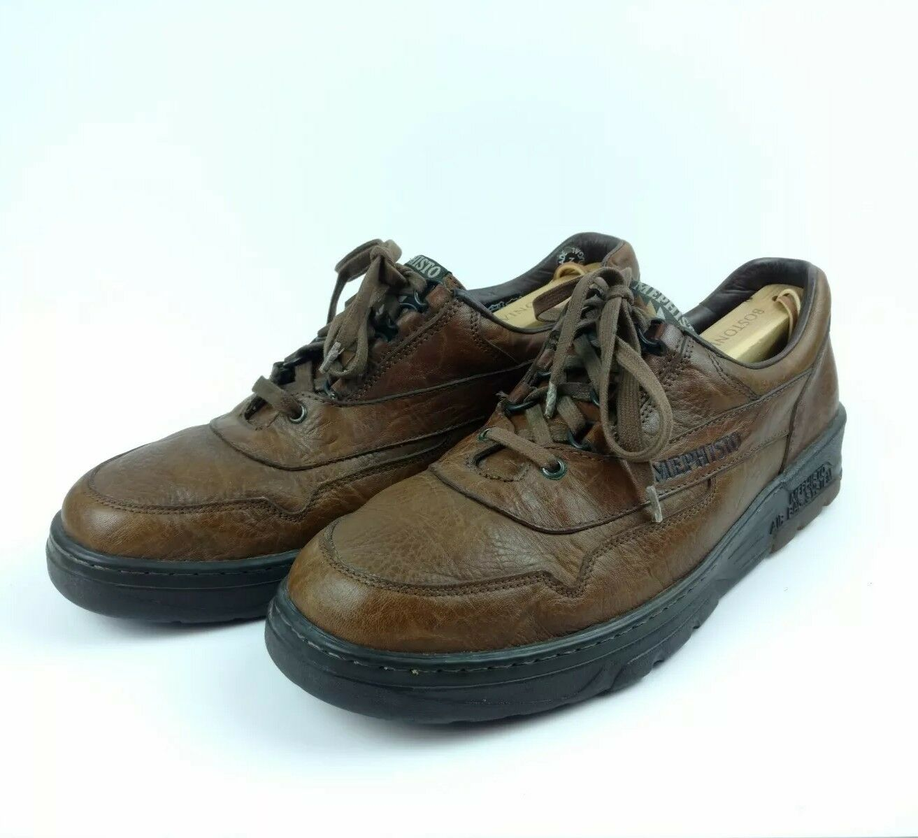 Mephisto Runoff Air Jet 6.5 US Air Bag System Brown Leather Caoutchouc