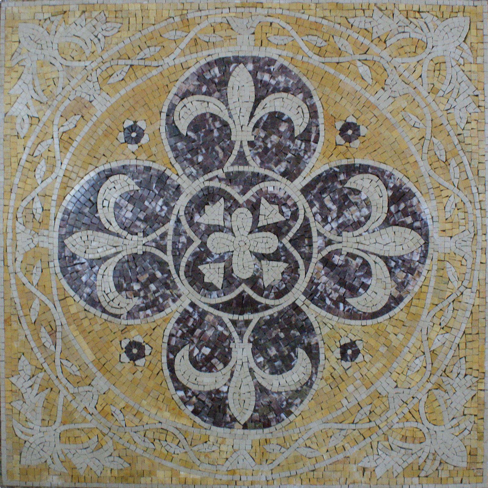 Gorgeous Art Tile Stone Floral House Decor Marble Mosaic GEO1992