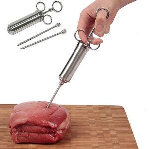 Marinadenspritze-Gewuerzspritze-Bratenspritze-Edelstahlchen-Gadget-BBQ-Meat-1-PAL