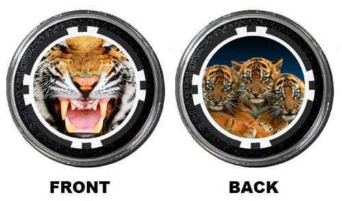 TIGER Card Guard HOLDEM POKER COVER Paper Weight Protector