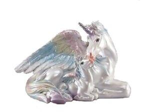 Rainbow Winged Unicorn Pegasus Unipeg Mother & Baby ...
