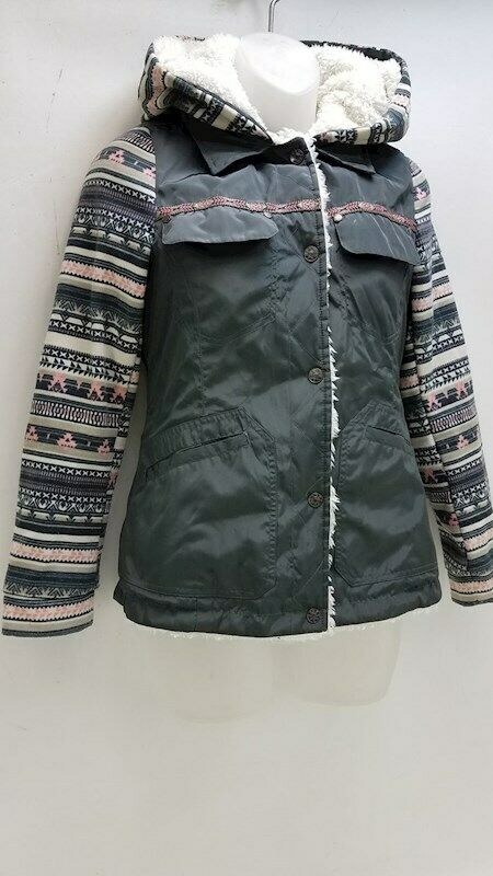 Jessica Simpson Multi Color Coat Kid's Size 14 - image 5