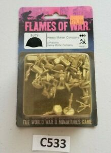 Flames-of-War-SU751-Soviet-Heavy-Mortar-Company-NIB