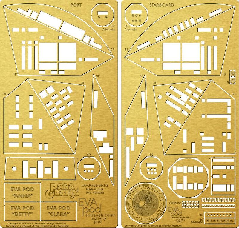 2001   ein Raum Odyssey Eva Pod 1 8 Maßstab Fotoätzung Detail Set 184MB200P