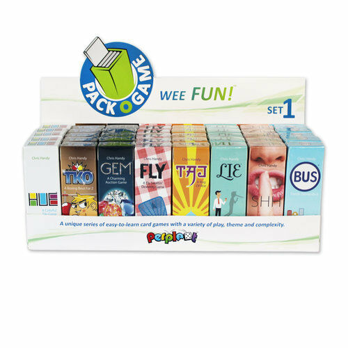 Pack-O-Game Gum-Sized Card Games! Various Games Perplext