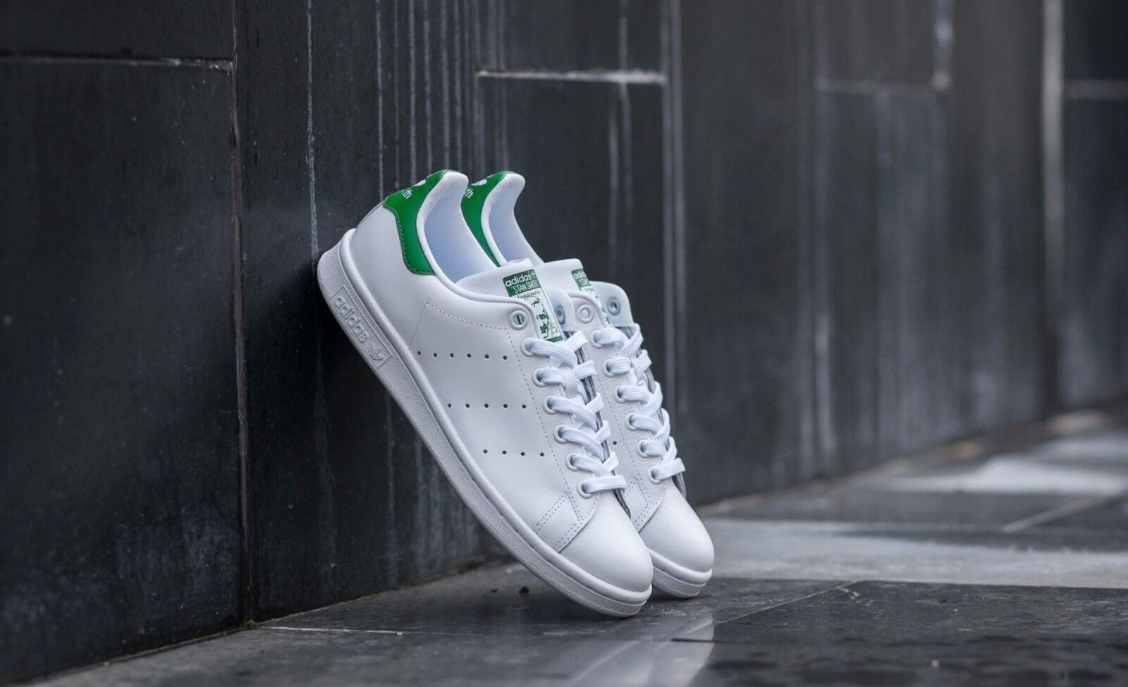 ADIDAS STAN SMITH schuhe MENS ORIGINALS SUPERSTAR Weiß Weiß Weiß LEATHER GAZELLE S75074 4e7417